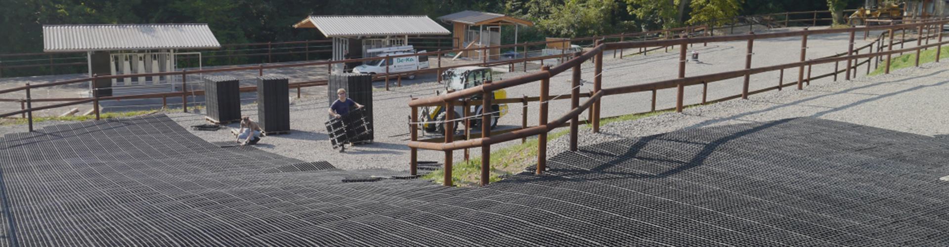 dalles-de-stabilisation-sol-equestre-chevaux Dalles de stabilisation